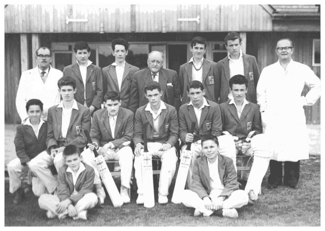Preston College Cricket team c1960/61 | From the private collection of Leslie Baynes
