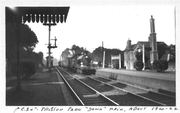 Preston Park Station c1921 | From the private collection of Brian Matthews