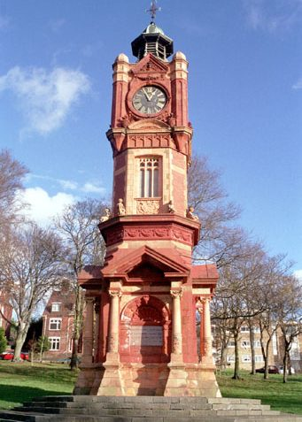 Clocktower in Preston Park, as <a href=
