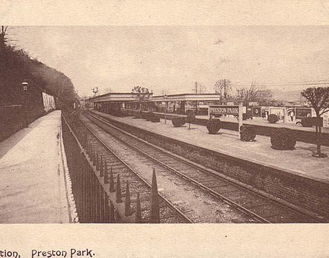 Preston Park Station | Photo from a private collection