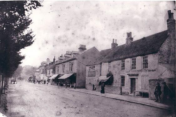 Preston Village, ca 1890   Photo from a private collection