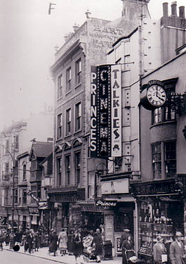 Image shows Princes Cinema in 1933. | Image produced with permission from Brighton History Centre