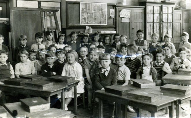 Queen's Park Infants School | From the private collection of Dennis Parrett