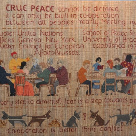 One of the Quaker Tapestry panels | Photo by Tony Mould
