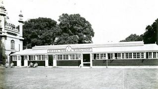 Queen Mary's Workshops in the Pavilion grounds 1920   HPGC Archive