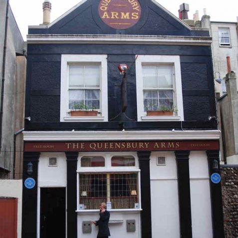 Queensbury Arms aka The Hole in the Wall   Photo by Tony Mould