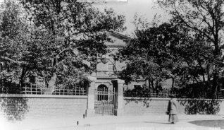 Quaker Meeting House, c1901