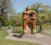 The drinking fountain in 2003