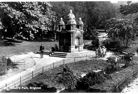 Old postcard of the Park | (Reproduced by permission from private collection)