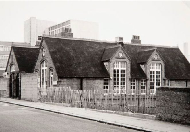 Originally Park Street Infants School: 1986 | Image reproduced with kind permission of The Regency Society and The James Gray Collection