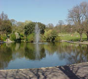 Queen's Park Lake today