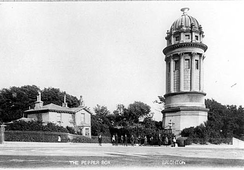 The 'Pepperpot' | Photo from a private collection
