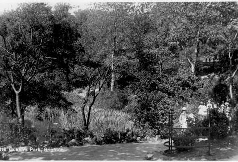 Old postcard of the Park | (Reproduced by permission from private collection