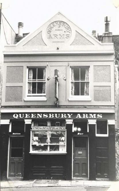 Queensbury Arms | Image reproduced with permission from Brighton History Centre