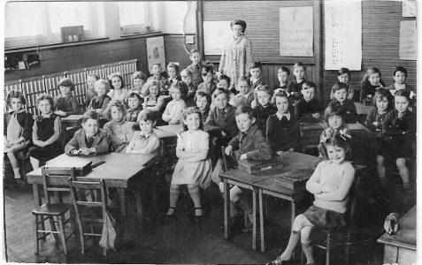 Class photograph c1947