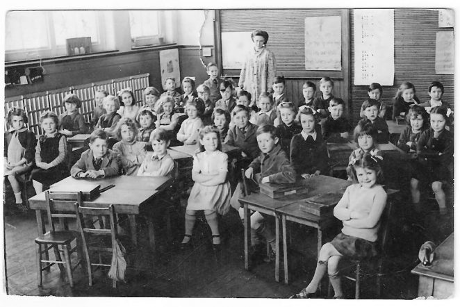 Class photograph c1947 | From the private collection of Gwen Healy