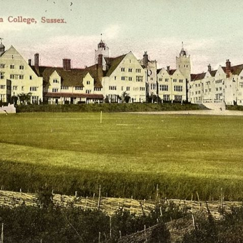 Roedean College c.1910. | Fro the private collection of Tony Drury