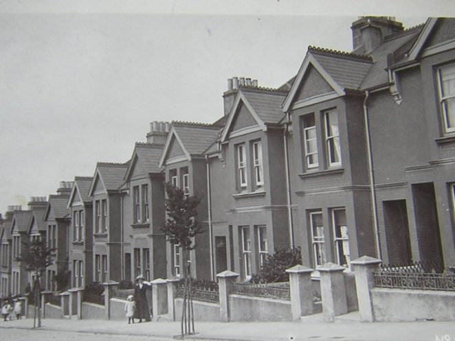 Bernard Road in the 1920s | From the private collection of Carol Homewood