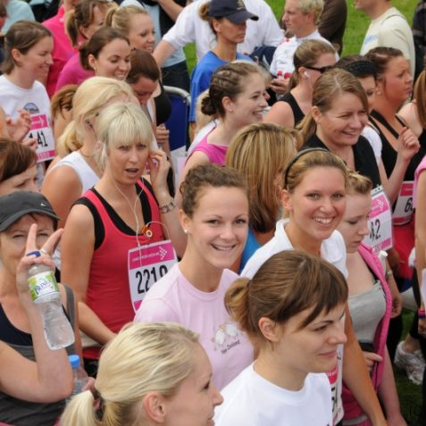Smile for the camera ladies   Photo by Tony Mould