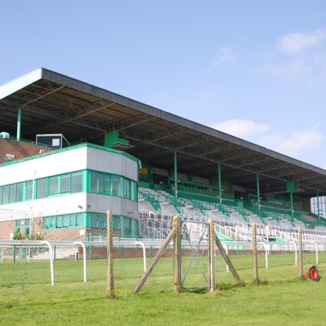 The main stand | Photo by Tony Mould