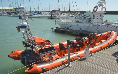 Random Harvest: new RNLI lifeboat launched
