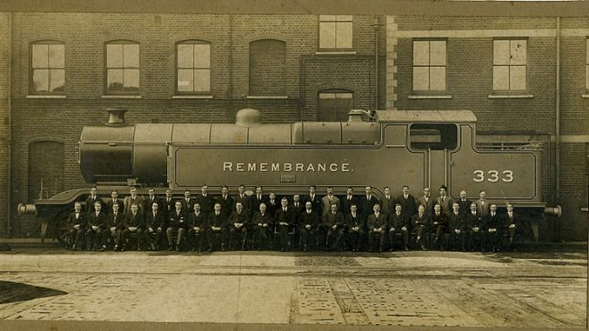 Remembrance:the last engine to be built in Brighton | Owned by the late Arthur Churchill