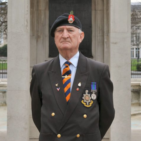 Robert  Truelove  Royal Sussex Regiment | Photo by Tony Mould