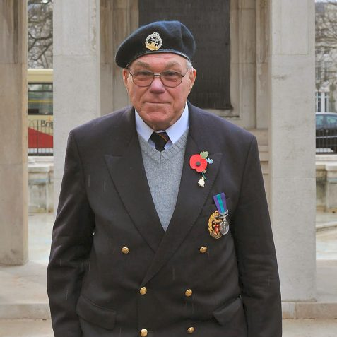 Ray Ward-Royal Hampshire Regiment | Photo by Tony Mould