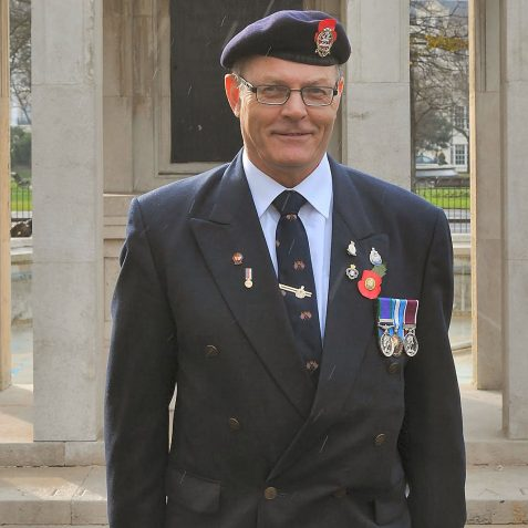 John Costan-Royal Sussex Regiment | Photo by Tony Mould