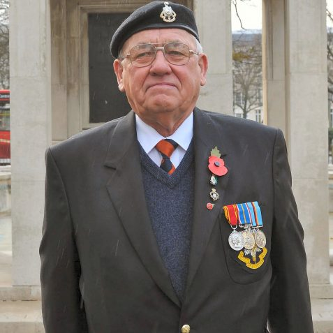 Bill Ward-Royal Sussex Regiment | Photo by Tony Mould