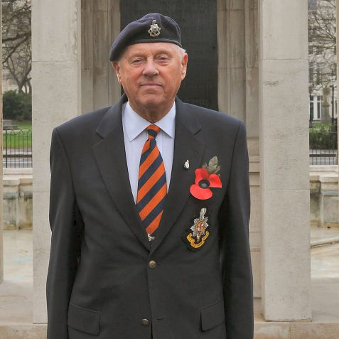 Alan Chatfield-Royal Sussex Regiment   Photo by Tony Mould