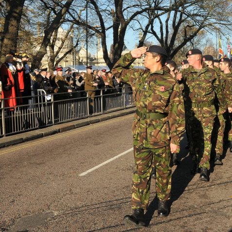 Remembrance Sunday 2011 | Photo by Tony Mould