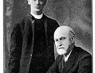 First vicar: The Rev George Hewitt