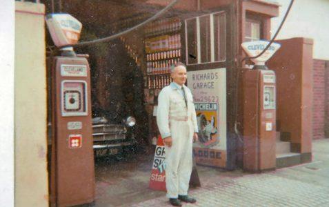 1950s Petrol Pumps