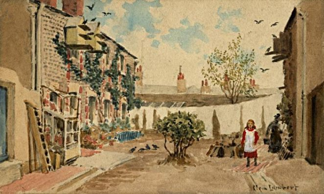 'Regent Court, Regent Hill' | From the private collection of John Lamper