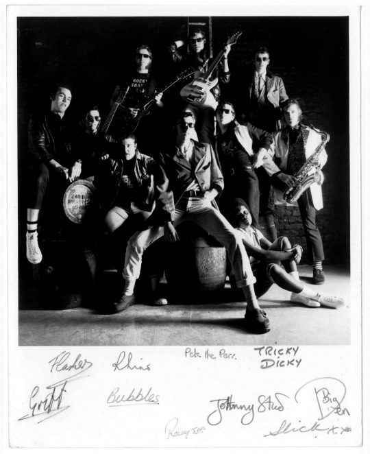 Rocky Sharpe and the Razors | From the private collection of Dick Duly, aka