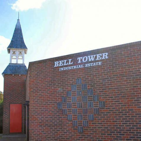 Bell Tower Industrial Estate | Photo by Tony Mould