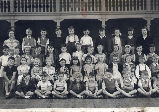 Class photograph c1950s | From the private collection of Roger Ivermee