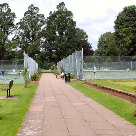Tennis courts at Preston Park | Photo by Tony Mould