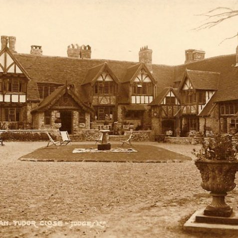 Tudor Close Hotel date unknown | From the private collection of Tony Drury