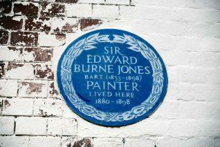 Edward Burne Jones commemorative plaque | Photo by Tony Mould