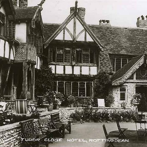 Tudor Close Hotel 1948 | From the private collection of Tony Drury
