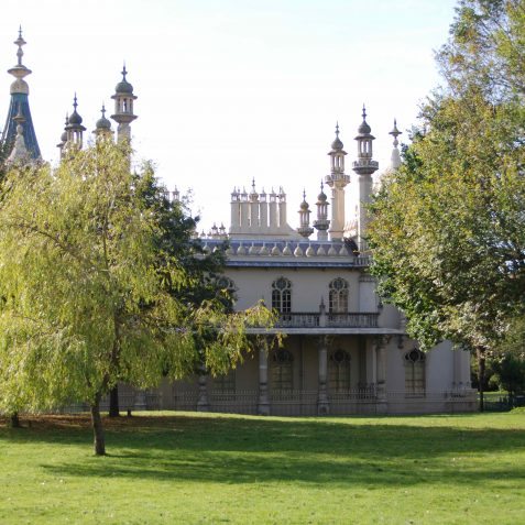 Royal Pavilion grounds | Photo by Tony Mould
