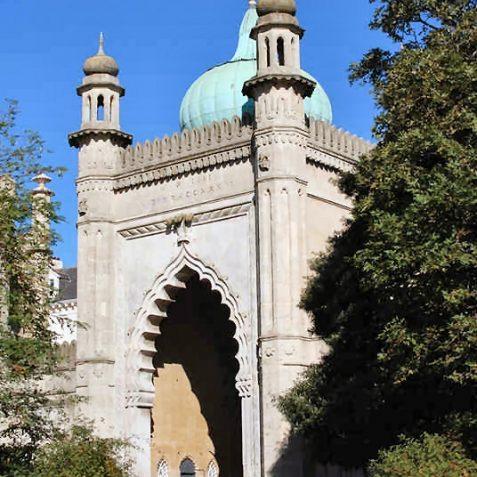 Royal Pavilion North Gate | Photo by Tony Mould