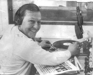 Mike Matthews Radio Brighton producer/presenter | From the private collection of Mike Matthews