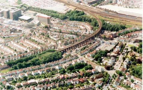 Aerial view 1991