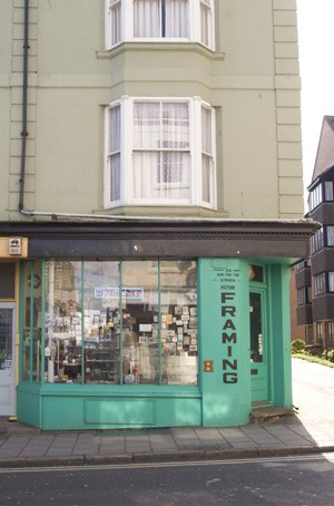 Formerly The Record Album, 34 North Road, Brighton | Photo by Debbie Lias