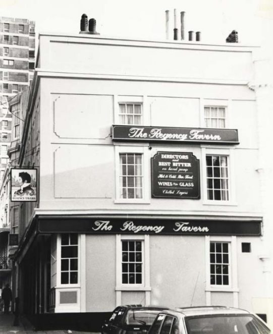 Regency Tavern: Then | Image reproduced with permission from Brighton History Centre