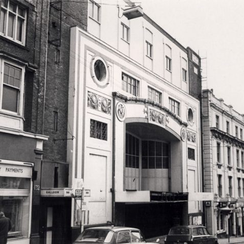 In spite of its opulence and ambition, the Regent was closed in 1973. It was demolished the following year while its owners concentrated on the new Kingswest development in West Street. The site was later used for a branch of Boot's The Chemist. | Image reproduced with kind permission of The Royal Pavilion and Museums Brighton and Hove