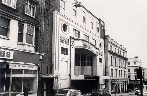 The Regent,shortly before demolition in 1970s | Royal Pavilion and Museums Brighton and Hove